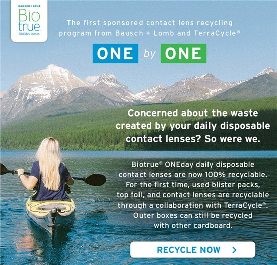 de92ef9564dd9 Bausch + Lomb Launches CL Recycling Program - Review of Optometric ...